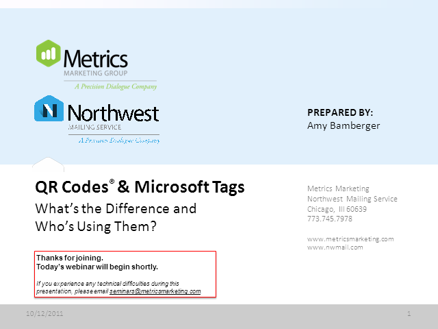 QR Codes and Microsoft Tags: What's the Difference and Who's Using Them?