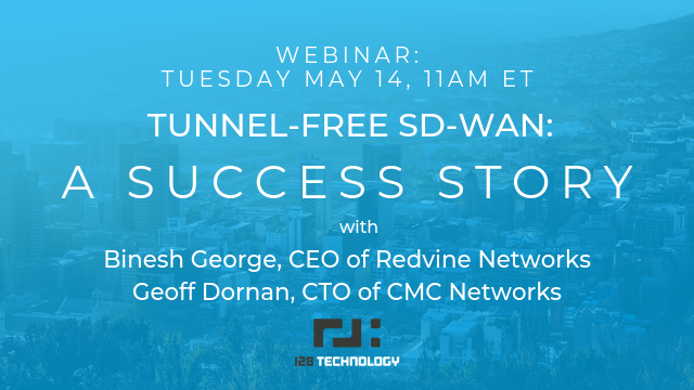 Tunnel-free SD-WAN: A Success Story