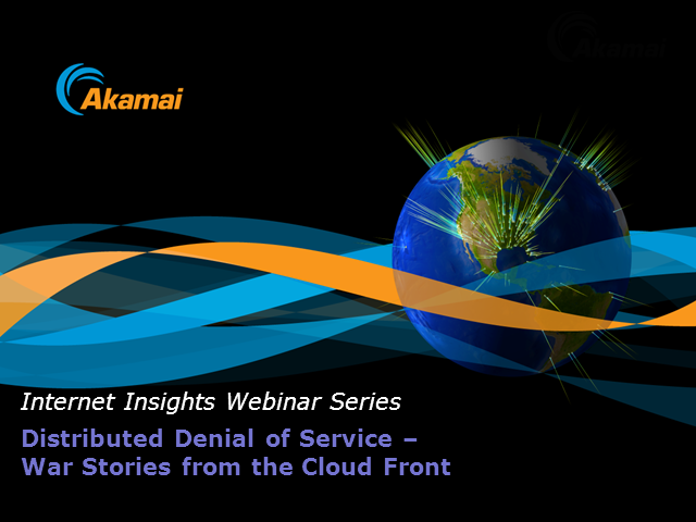 Distributed Denial of Service — War Stories from the Cloud Front