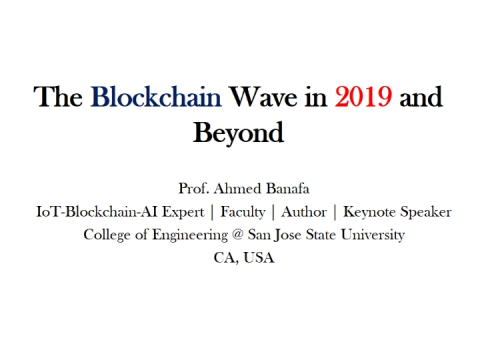 The Blockchain Wave in 2019 and Beyond