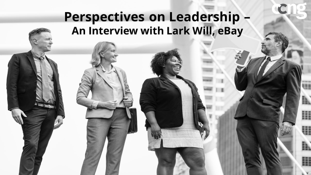 Perspectives on Leadership - An Interview with Lark Will, eBay