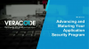 Advancing and Maturing your Application Security Program with Veracode