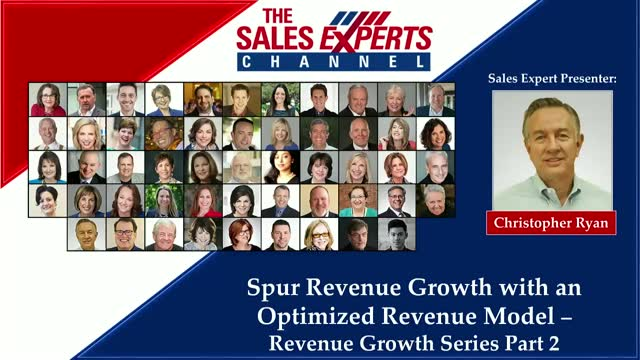 Spur Revenue Growth with an Optimized Revenue Model