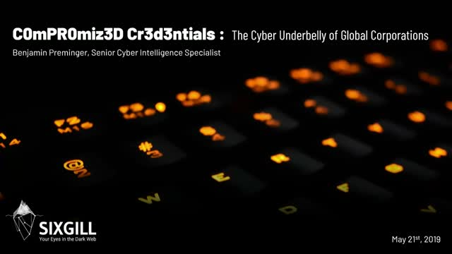 Compromised Credentials: The Cyber Underbelly of Global Corporations