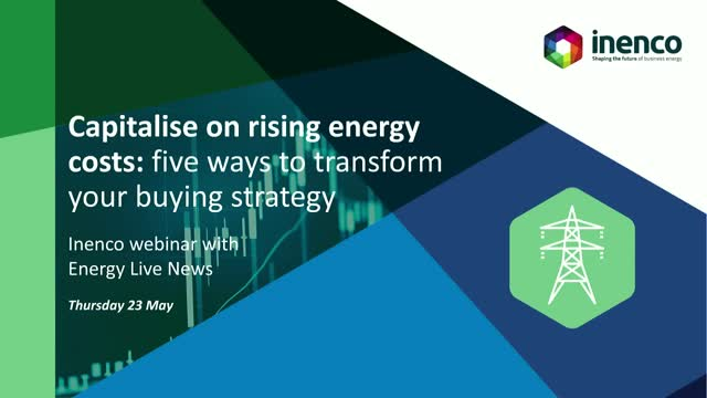 Capitalise on rising energy costs: Five ways to transform your buying strategy