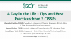 A Day in the Life - Tips and Best Practices from 3 CISSPs