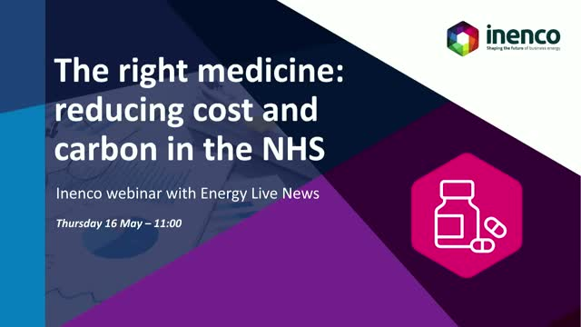 The right medicine: reducing cost and carbon in the NHS
