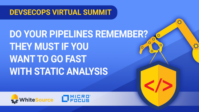 Do Your Pipelines Remember?They Must If You Want to Go Fast With Static Analysis