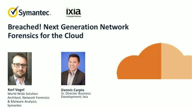 Next Generation Network Forensics for the Cloud