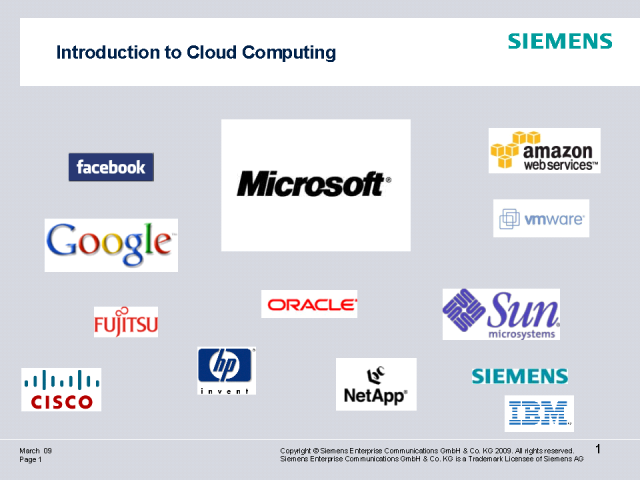 Unified Communications in the Cloud