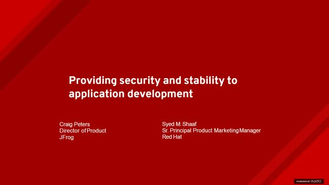 Providing Security and Stability to Application Development