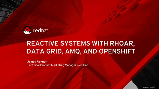 Reactive Systems with Red Hat OpenShift Technologies