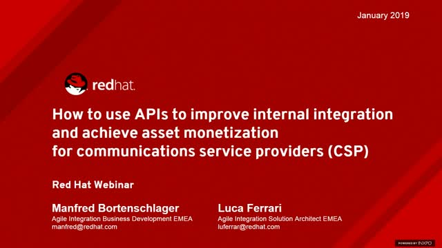How to use APIs to improve integration for communications service providers