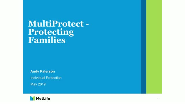 MetLife MultiProtect family webinar