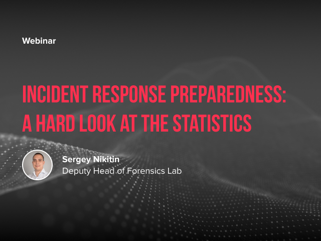 Incident Response Preparedness: a hard look at the statistics