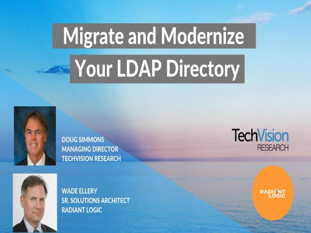 Seamlessly Migrate and Modernize Your LDAP Directory