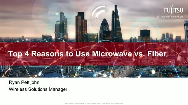 Top 4 Reasons to Use Microwave vs. Fiber