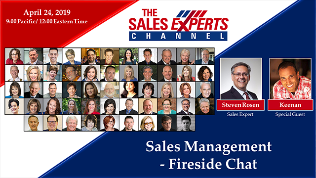 Sales Management - Fireside Chat: Coaching Tips and Hacks to Crush Your Sales