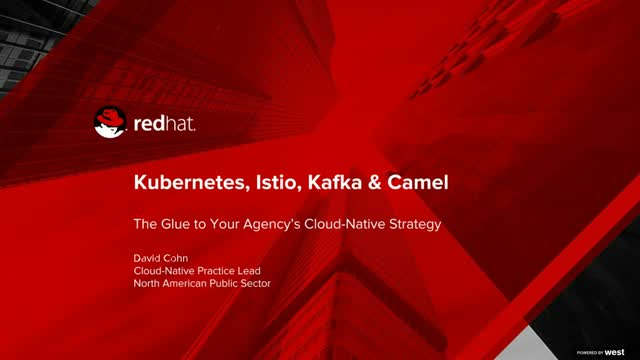 Kubernetes, Istio, Kafka, and Camel: The glue to your cloud-native strategy