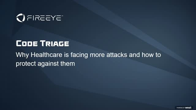Code Triage: Why Healthcare is Facing More Cyber Attacks...