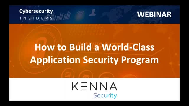 How to Build a World-Class Application Security Program
