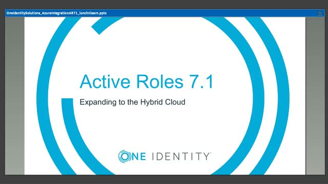 Identity Lifecycle Management in a hybrid AD environment