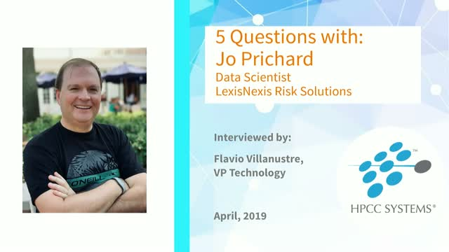 HPCC Systems Community Focus: 5 Questions with Jo Prichard