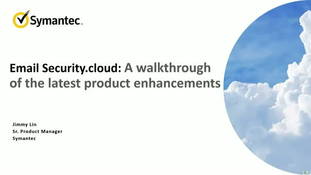 Email Security.cloud: A walkthrough of the latest product enhancements
