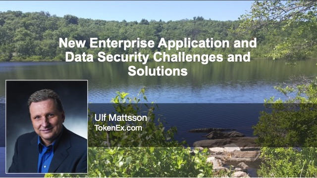 New Enterprise Application and Data Security Challenges and Solutions