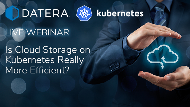 Is Cloud Storage on Kubernetes Really More Efficient?
