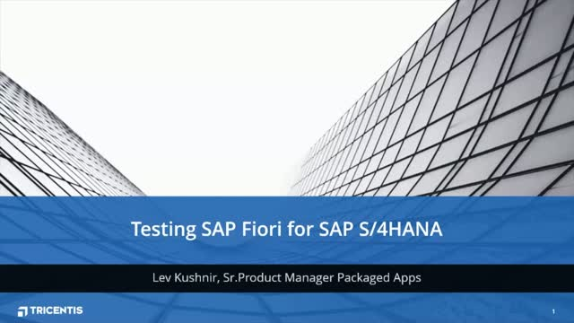 Testing SAP Fiori for SAP S/4HANA: How to Solve the Top Challenges