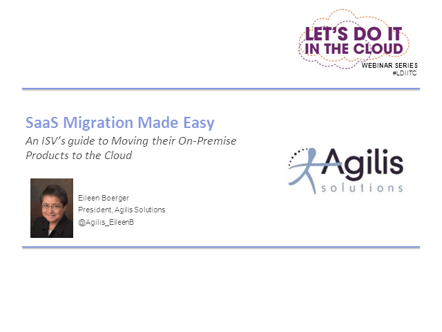 Software Migration: Moving On-Premise Business to the Cloud
