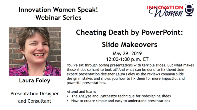 Cheating Death by PowerPoint: Slide Makeovers
