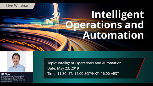 Intelligent Operations and Automation