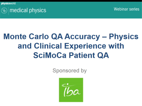 Monte Carlo QA Accuracy –Physics and Clinical Experience with SciMoCa Patient QA