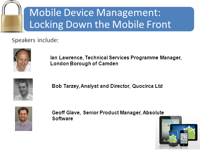 Mobile Device Management: Locking Down The Mobile Front