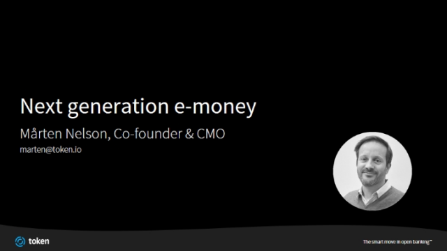 Next Generation e-money: Transformation of the cross-border payments value chain