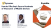 Mobile Security Strategy Best Practices