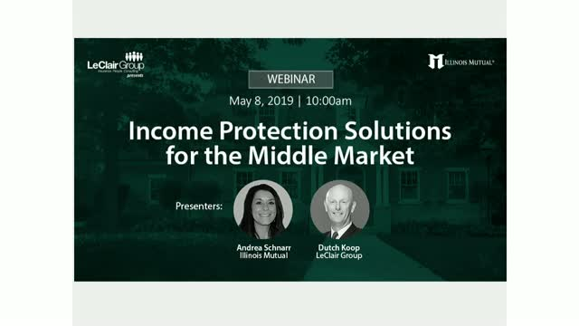 Income Protection Solutions for the Middle Market