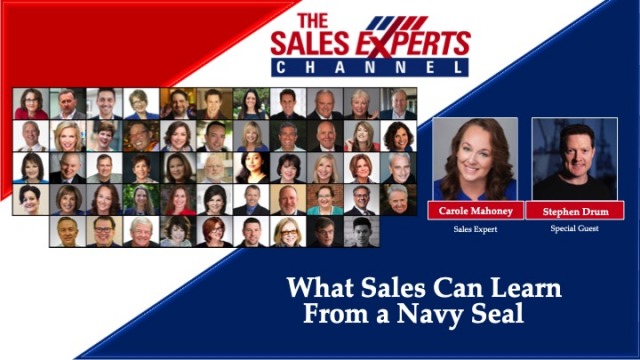 What Sales Can Learn From a Navy Seal