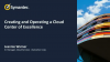 How to Implement a Cloud Center of Excellence