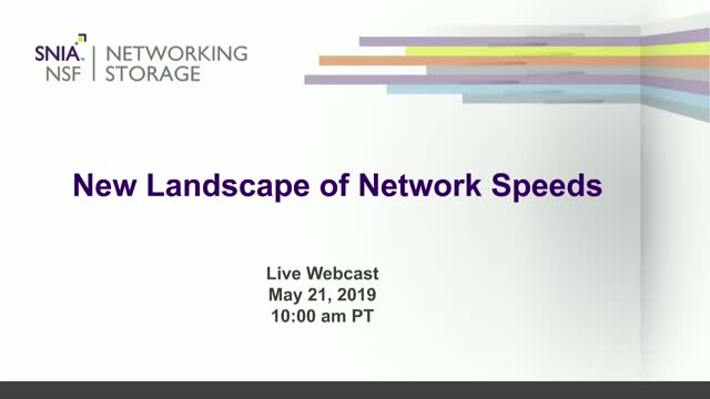 New Landscape of Network Speeds