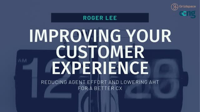 Reducing Agent Effort and Lowering AHT for a Better CX