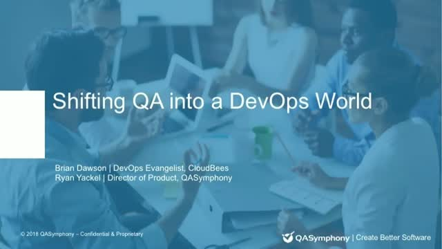 Shifting QA Into a DevOps World