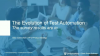 Test Automation: Evolution or Revolution? The Survey Results Are In
