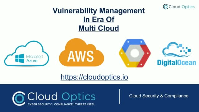Vulnerability Management In Era Of Multi-Cloud