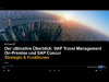SAP Travel Management On-Premise und SAP Concur – Teil 1