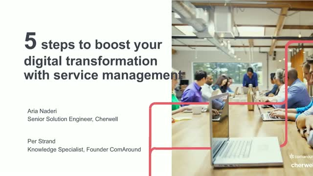 5 Steps to Boost Your Digital Transformation with Service Management