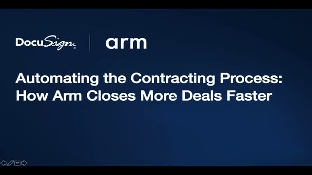 Automating the Contracting Process: How Arm Closes More Deals Faster