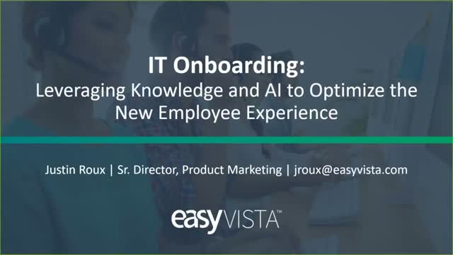 Leveraging Knowledge & AI to Optimize the New Employee Experience